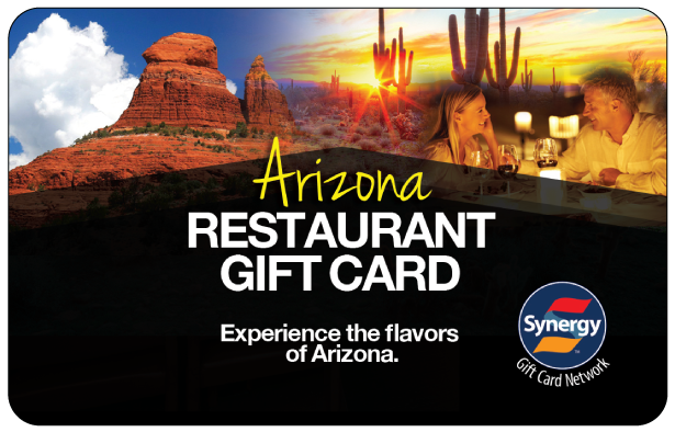 Welcome Arizona Gift Card Processed By Synergy World Inc