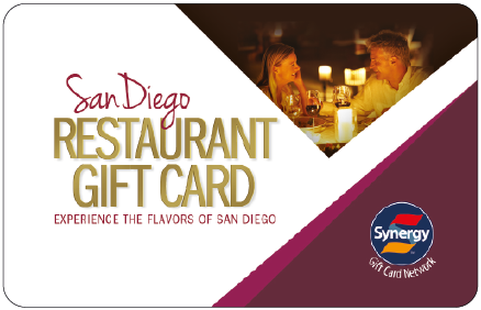 The San Diego Gift Card is accepted at over 100 restaurants in San Diego. You can also use your San Diego Gift Card in Temecula, Arizona, New Mexico, ...